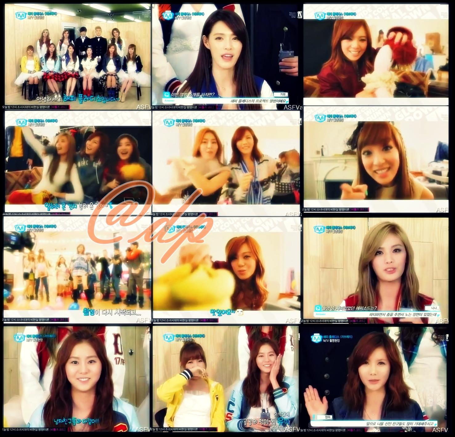 VID Funny BTS Interview Happy Pledis 2012 Making MV Love