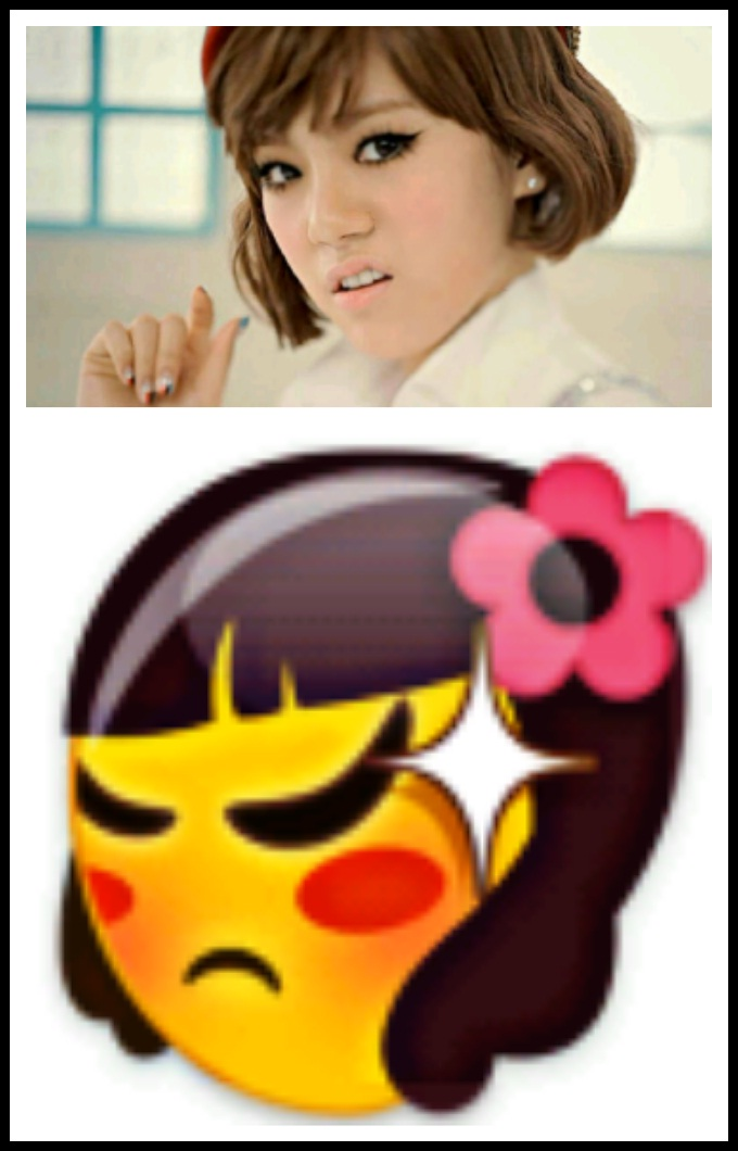 Just4Fun] Muka After School Lizzy Terlihat Sama Seperti Emoticon Chat ...